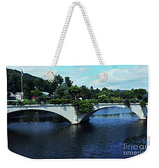 Bridge Of Flowers Weekender Tote Bag