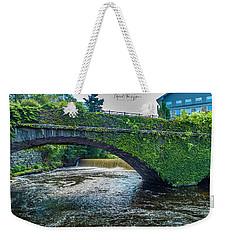 Bridge Of Flowers Weekender Tote Bag