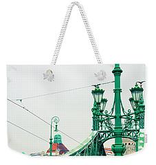 Bridge Of Liberty In Budapest Weekender Tote Bag