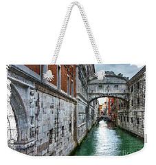 Bridge Of Sighs Weekender Tote Bag by Tom Cameron