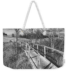 Bridge On The Prairie Weekender Tote Bag