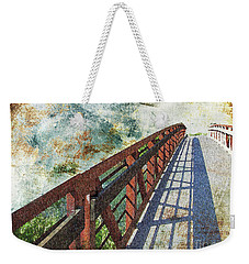 Bridge Over Clouds Weekender Tote Bag by Deborah Nakano