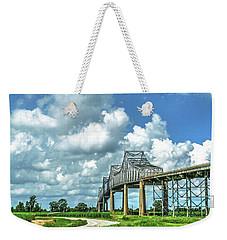 Bridge Over Mississippi River Weekender Tote Bag