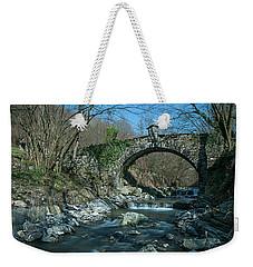 Bridge Over Peaceful Waters - Il Ponte Sul Ciae' Weekender Tote Bag