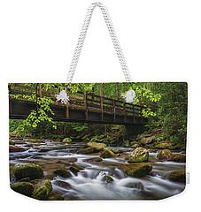 Bridge Over Rocky Water Weekender Tote Bag