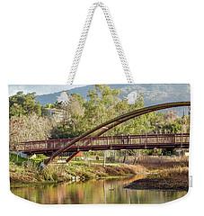 Bridge Over The Creek Weekender Tote Bag