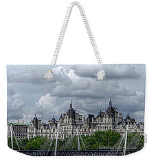 Bridge Over The Thames Weekender Tote Bag