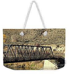Bridge Over The Thompson Weekender Tote Bag