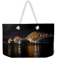 Bridge Over Water Lights. Weekender Tote Bag