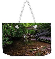 Bridge Over Wilson Creek Weekender Tote Bag