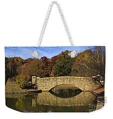Bridge Reflection Weekender Tote Bag