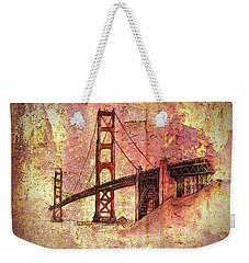 Bridge Rustic Weekender Tote Bag