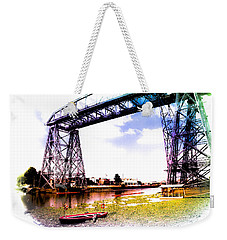 Bridge Weekender Tote Bag by Silvia Bruno