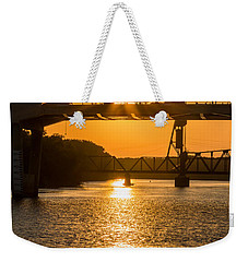 Bridge Sunrise 2 Weekender Tote Bag