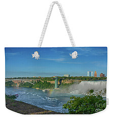 Bridge To America Weekender Tote Bag