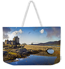 Bridge To Eilean Donan Weekender Tote Bag by Gary Eason