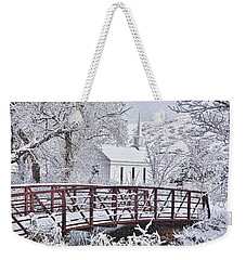 Bridge To Faith Weekender Tote Bag