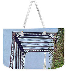 Bridge To God Weekender Tote Bag
