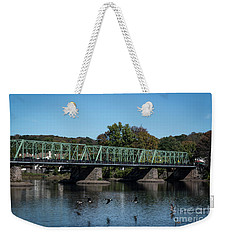 Bridge To Lambertville 2 Weekender Tote Bag