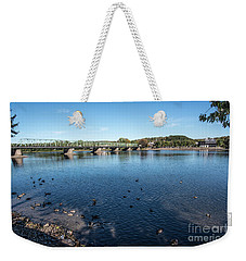 Bridge To Lamberville Weekender Tote Bag