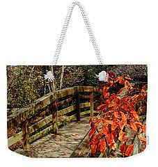 Bridge To New Adventures Weekender Tote Bag