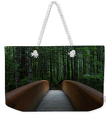 Weekender Tote Bag featuring the photograph Bridge To Serenity  by Dustin LeFevre