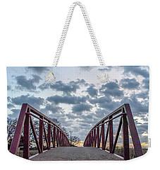 Bridge To The Clouds Weekender Tote Bag