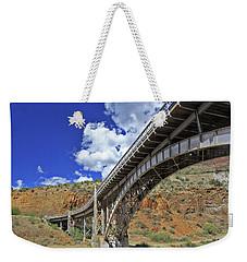 Bridge To Yesteryear Weekender Tote Bag