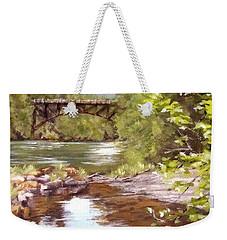 Bridge View Weekender Tote Bag