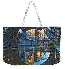 Bridges Across Binnendieze In Den Bosch Weekender Tote Bag
