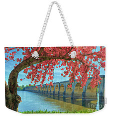 Beautiful Blossoms Weekender Tote Bag