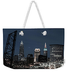 Bridges And Buildings Weekender Tote Bag