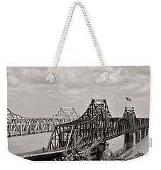 Bridges At Vicksburg Mississippi Weekender Tote Bag