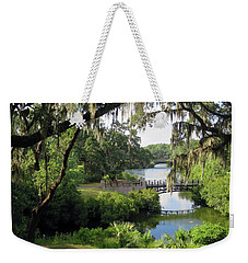 Bridges Over Tranquil Waters Weekender Tote Bag