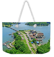 Bridgewater Plaza Aerial Weekender Tote Bag