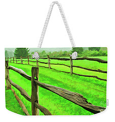 Bridle Trail Weekender Tote Bag