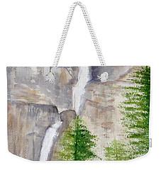Bridal Veil Waterfall Weekender Tote Bag