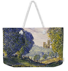 Bridlington Priory From Woldgate On The Hockney Trail Weekender Tote Bag
