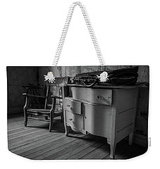 Briefcase On The Dresser Weekender Tote Bag
