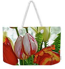 Bright Bouquet Weekender Tote Bag