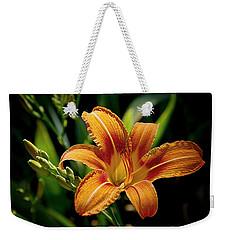 Bright Daylily Weekender Tote Bag