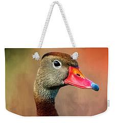 Bright-eyed Weekender Tote Bag
