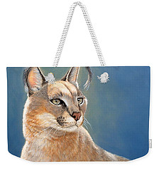 Bright Eyes - Caracal Weekender Tote Bag