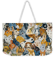 Bright Eyes Weekender Tote Bag by Pat Scott