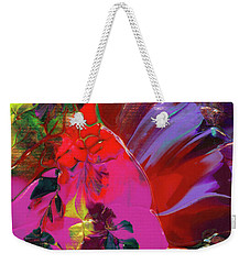 Bright Flaming Sun Flares Weekender Tote Bag