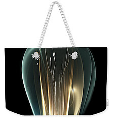 Weekender Tote Bag featuring the digital art Bright Idea by Anastasiya Malakhova