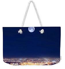 Bright Lights Big City Weekender Tote Bag