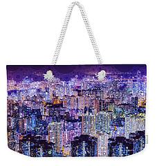 Bright Lights, Big City Weekender Tote Bag