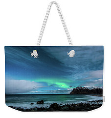 Bright Night Weekender Tote Bag