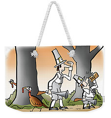 Bright Thanksgiving Weekender Tote Bag